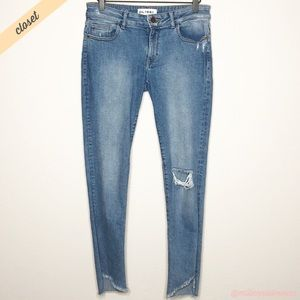 [DL1961] Distressed Emma Power Legging Jeans